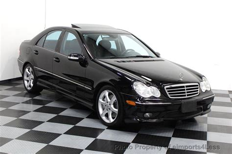 Mercedes C230 2007 by 2007 Used Mercedes C Class C230 V6 Sport 6 Speed