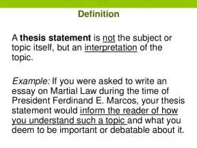 how to write dissertation writing thesis statements