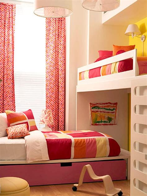 y bedroom girl bright and sunny girls bedroom for two kidsomania