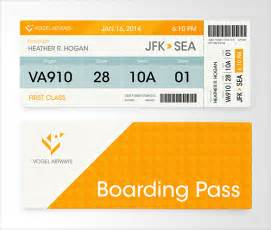 boarding pass design template 21 exles of boarding pass designs ideas free