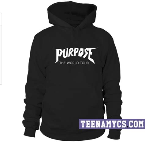 Hoodie Purpose The World Tour Brothersapparel purpose the world tour hoodie teenamycs