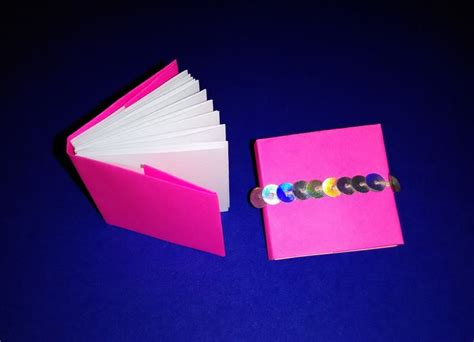 Origami Books With Paper - origami modular mini books mini diary diy origami