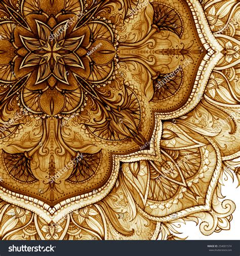 pattern islamic floral vintage floral pattern islamic art hand drawn watercolor
