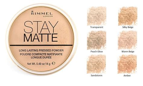 Rimmel Stay Matte Powder skin care cosmetics make up l pink tulip mart