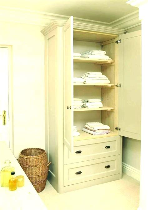 linen cabinet with corner linen cabinet for bathroom linen cabinet with