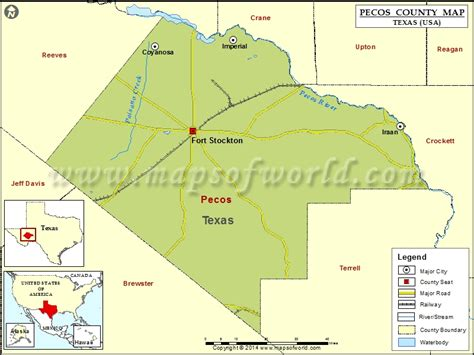 map pecos texas pecos county map map of pecos county texas