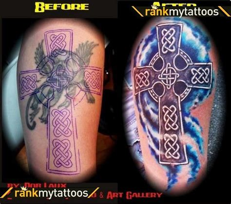 cross tattoo cover up ideas celtic cover up celtic cross coverup celtic cross