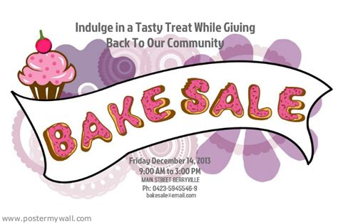 bake sale template the gallery for gt bake sale flyer
