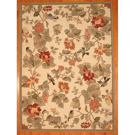 Rugs With Birds by Pottery Barn Bird Floral Rug Decor Look Alikes