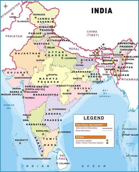india political map images xvon image india political map with cities