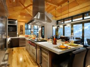 kitchen island with stove and seating nest by tamara an exciting trip to subzero wolf the