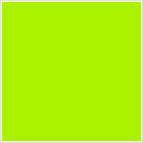 lime green color aaf200 hex color rgb 170 242 0 green yellow lime lime green