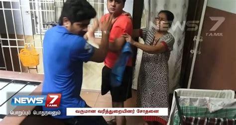 actress samantha parents pics actress samantha s parents create ruckus at chennai it