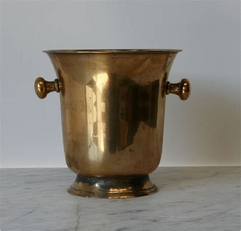 Stylish Home Interior Design brass plated champagne bucket haunt antiques for the