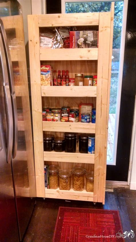 Link 10 Things For A Ready Pantry by How To Build Your Own Rolling Pantry For Easy