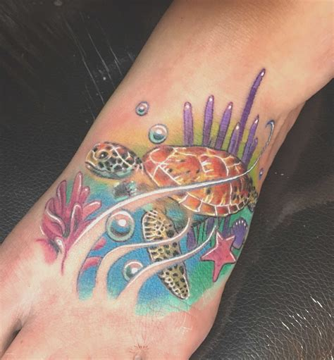 watercolor tattoos turtle watercolor sea prints creative