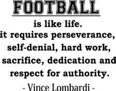 88 Best Inspirational Football Quotes Images Youth