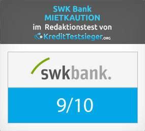 swk bank test mietkaution b 252 rgschaft