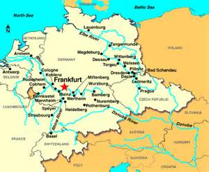 Frankfurt Germany Map by Frankfurt Germany Discount Cruises Last Minute Cruises