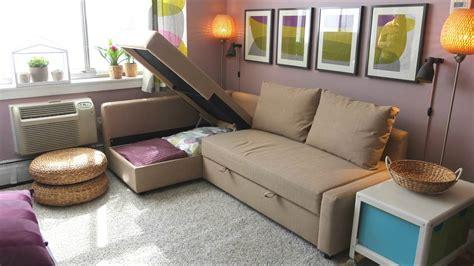 holmsund sofa bed review friheten sofa bed ikea home tour