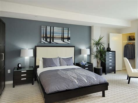 grey master bedroom ideas gray master bedrooms ideas hgtv blue white and gray