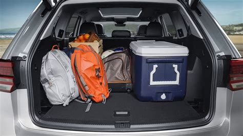 volkswagen atlas seating volkswagen atlas cargo space and fold seating