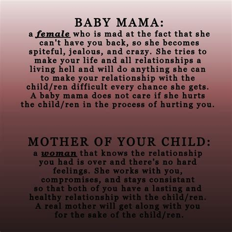 Respect Your Baby Mama Quotes