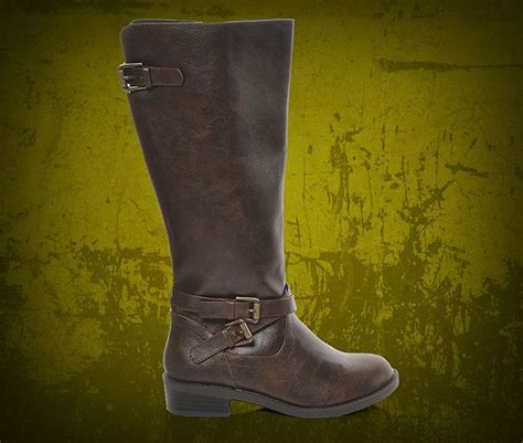 soda casual brown boots at shoe carnival