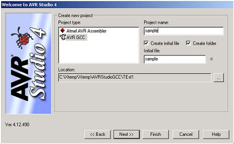 tutorial gcc linux set up avrstudio to use avr gcc compiler do it easy with