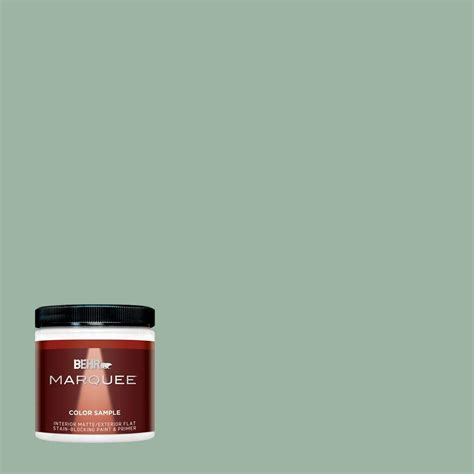 behr marquee 8 oz s410 4 copper patina one coat hide interior exterior flat matte paint sle