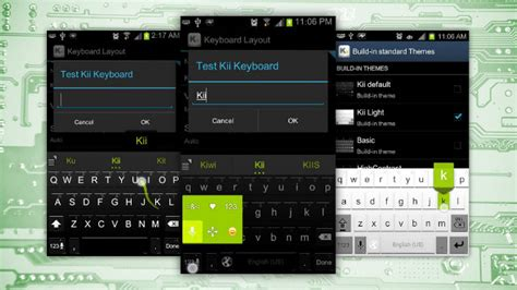 keyboard themes root android kii keyboard one click root