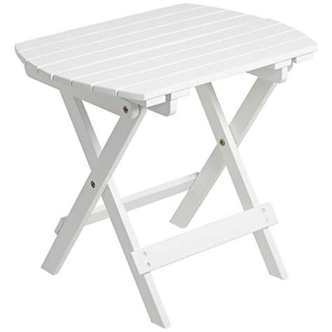White Outdoor Side Table by Monterey White Outdoor Wood Side Table X5402 Www