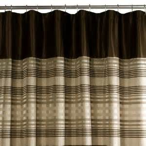 Brown Shower Curtains Brown Shower Curtains Add To Your Bathroom Net