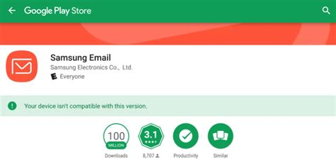 samsung email apk samsung email hits 100 million downloads on the play store apk wasp