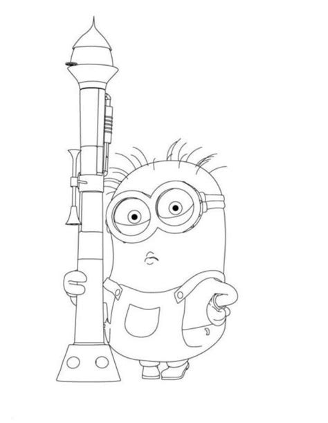 hula minion coloring page 17 b 228 sta bilder om minions coloring pages p 229 pinterest