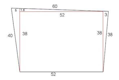 como calcular una superficie en metros cuadrados metros cuadrados de un terreno irregular