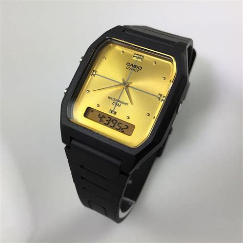 Casio Aw48he s casio digital analog 2 time zone aw48he 9av