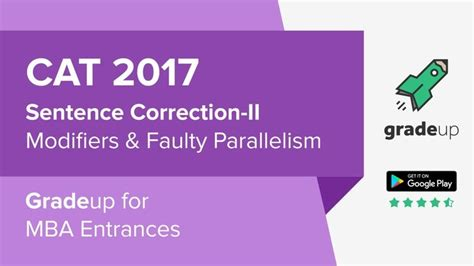 Sentence Correction Mba Cet by Cat 2017 Tips And Tricks To Solve Sentence Correction