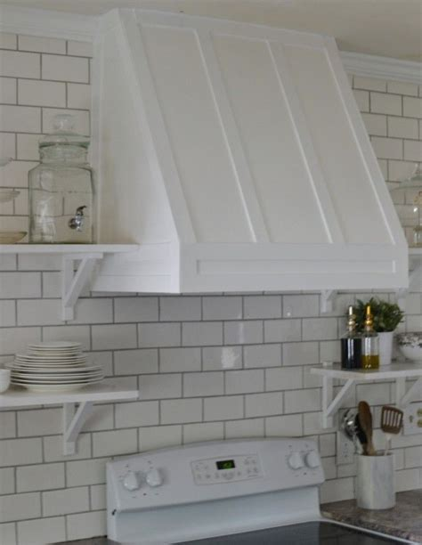diy range hood cover httplovethetompkinscom