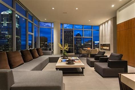 modern luxury penthouses a three bedroom penthouse unit seattle wa luxury