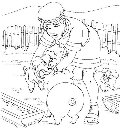Free Coloring Pages Of Prodigal Prodigal Coloring Pages
