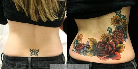 lower back coverup tattoos cover up tattoos cover up and lower back tattoos on