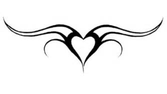 heart tattoo with tribal design amazing tattoo design