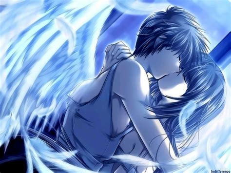 cute anime couples angels angel s feather yaoi wallpaper 7104659 fanpop