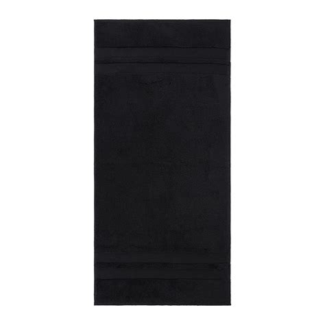 black bathroom towels buy amara super soft cotton towel black amara