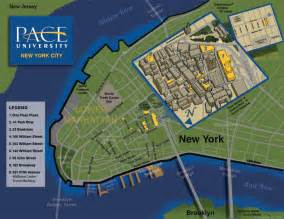 New York City Safety Map by Nyc Map Pace University