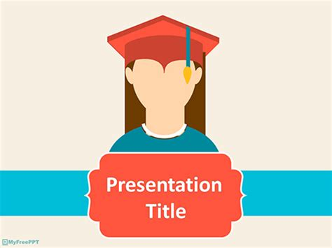 Free Graduation Powerpoint Templates Themes Ppt Graduation Powerpoint Template