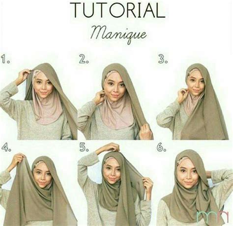 tutorial pashmina jersey 8 best square hijab tutorial images on pinterest hijab