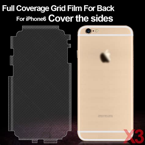Healing Shield Back Screen Protector Skin Iphone 6s Plus coverage screen protector for back of iphone 6 6s back screen protector for iphone 6 4 7