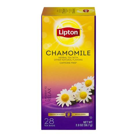teh migrain lipton chamomile herbal infusion chamomile tea lipton www pixshark images galleries